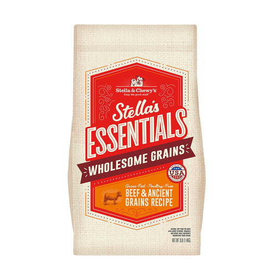 Stella & Chewy's - Essentials Ancient Grains Grass-Fed Beef
