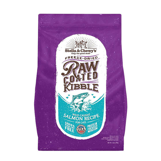 Stella & Chewy's - Grain-Free Raw Coated Wild-Caught Salmon for Cats