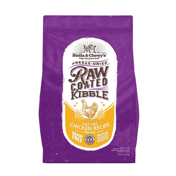 Stella & Chewy's - Grain-Free Raw Coated Cage-Free Chicken for Cats