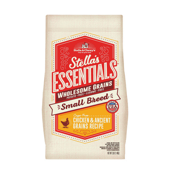 Stella & Chewy's - Essentials Ancient Grains Cage-Free Chicken for Small Breeds