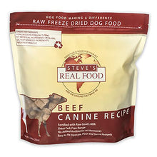 Steve's Real Food Freeze-Dried Beef Formula for Dogs and Cats