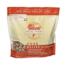 Steve's Real Food Freeze-Dried Pork Formula for Dogs and Cats