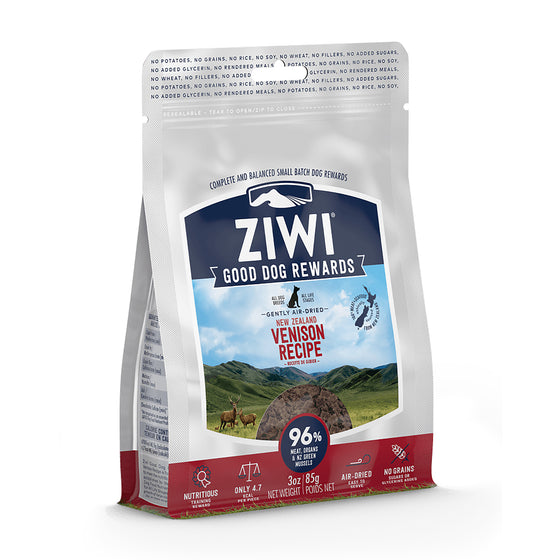Ziwi Good Dog Rewards New Zealand Venison