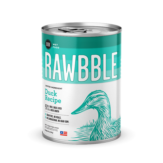 Rawbble Duck canned recipe