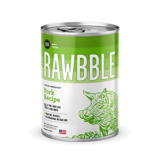 Rawbble Pork canned recipe