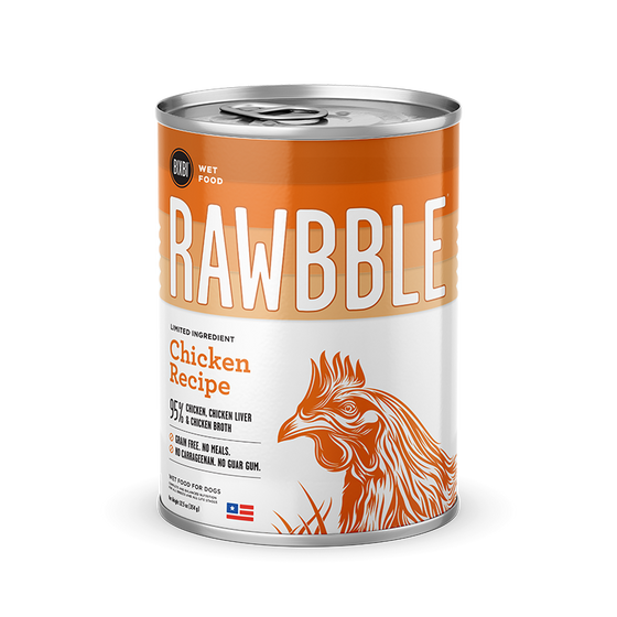 Rawbble Chicken canned recipe