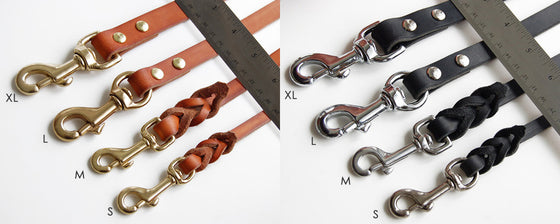 Leather 8-Way Adjustable Lead