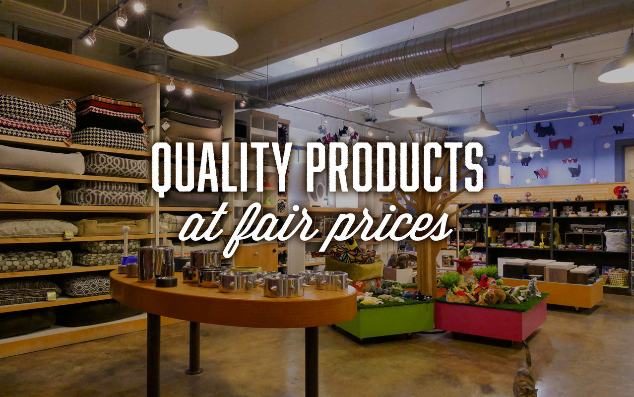 Quality products at fair prices