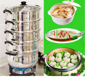 Cooking Tools Thickening Stainless Steel Steamer