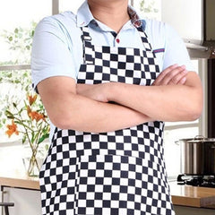 Striped Kitchen Restaurant Cooking Apron