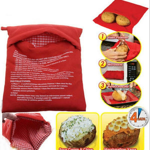 1 Pcs Microwave Baking Potatoes Cooking Bag