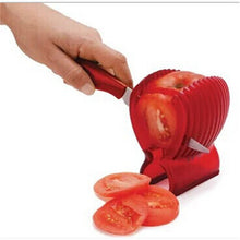 Load image into Gallery viewer, Fruit Vegetable Cutter Red Tomato Slicer