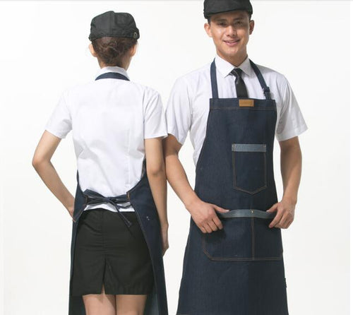 Kitchen Restaurant Denim Apron