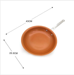 Copper Frying Pan with Ceramic Coating