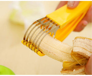 Stainless Steel Banana Slicer Fruit Cutter