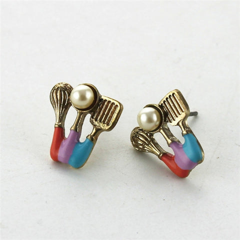 Kitchencoo™ Pearl Cooking Earrings