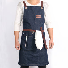 Load image into Gallery viewer, Denim Kitchen Cooking Apron
