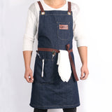 Denim Kitchen Cooking Apron