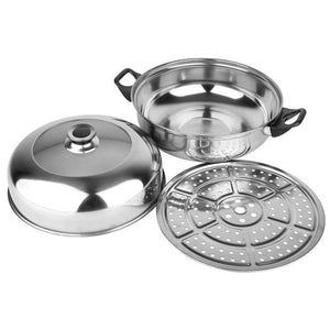 Stainless Steel Double-layer Steamer