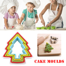 Load image into Gallery viewer, Christmas Tree Shaped Fondant Cookie Mold