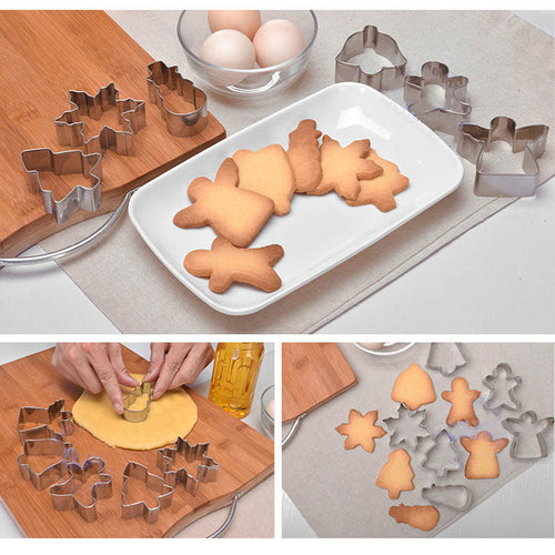 Stainless Steel CHRISTMAS Scenery Set