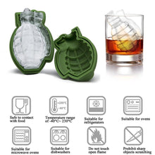 Load image into Gallery viewer, War Gun/Bullet Shape Ice Cube Tray