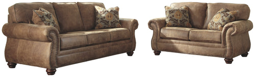 3190138 Larkinhurst Signature Design 2-Piece Living Room Set