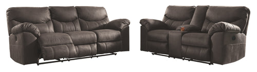 Boxberg Signature Design Power Reclining 2-Piece Living Room Set