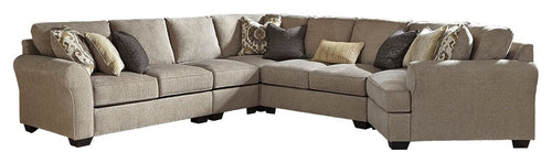 Pantomine Benchcraft 5-Piece Sectional with Cuddler