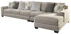 Ardsley Benchcraft 3-Piece Sectional with Chaise