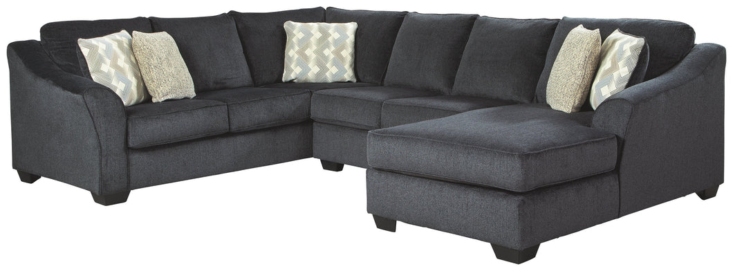 Eltmann Signature Design by Ashley 3-Piece Sectional with Chaise