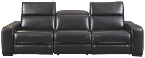 Mantonya Signature Design by Ashley 3-Piece Power Reclining Sectional