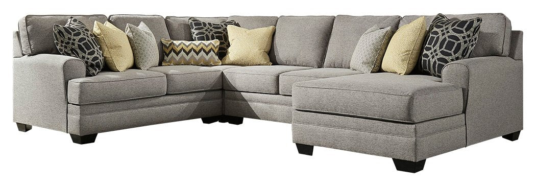 Cresson Benchcraft 4-Piece Sectional with Chaise