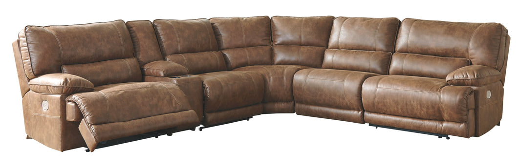 Thurles Signature Design by Ashley 6-Piece Power Reclining Sectional
