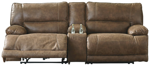 Thurles Signature Design by Ashley 3-Piece Power Reclining Sectional
