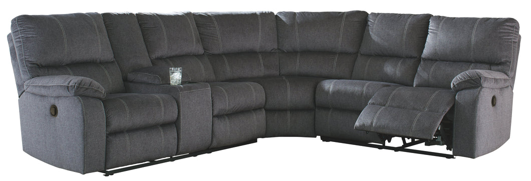 Urbino Signature Design by Ashley 3-Piece Reclining Sectional