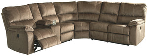 Urbino Signature Design by Ashley 3-Piece Power Reclining Sectional
