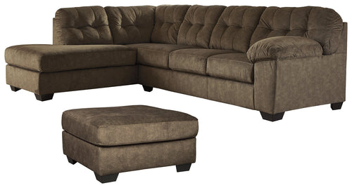 Accrington Signature Design 3-Piece Living Room Set with Sectional