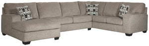 Ballinasloe Signature Design by Ashley 3-Piece Sectional with Chaise