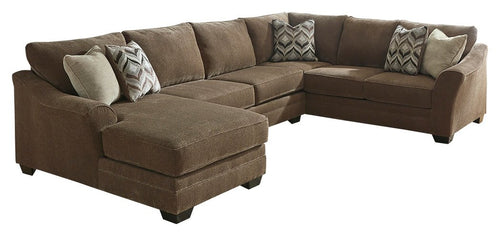 Justyna Benchcraft 3-Piece Sectional with Chaise