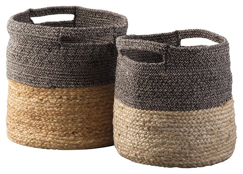Parrish Signature Design by Ashley Basket Set of 2