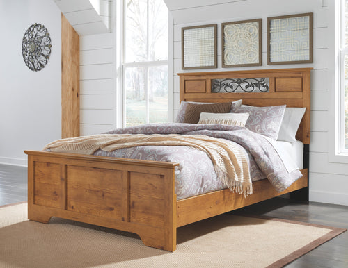 Bittersweet Signature Design 5-Piece Bedroom Set with Dresser and Mirror