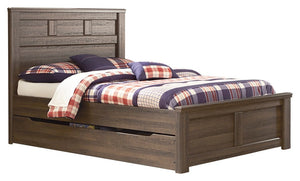 Signature Design by Ashley Juararo Full Panel Bed with Trundle or 1 Large Storage Drawer