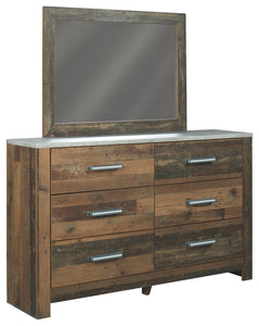 Chadbrook Benchcraft Dresser and Mirror