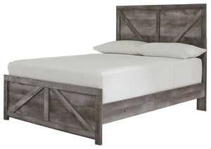 Signature Design by Ashley Wynnlow Full Crossbuck Panel Bed