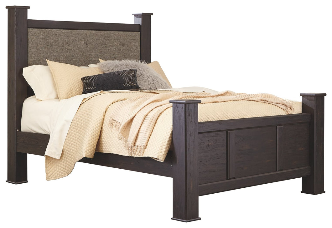 Signature Design by Ashley Reylow Queen Poster Bed