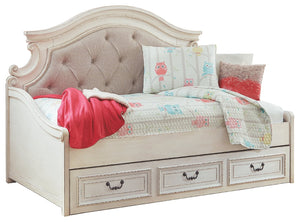 Signature Design by Ashley Realyn Twin Daybed with 1 Large Storage Drawer