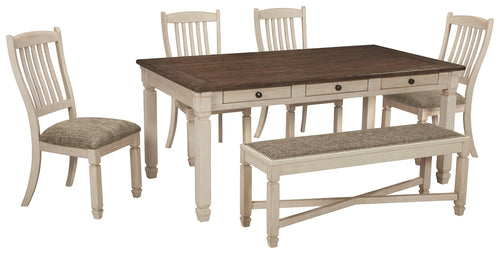 Bolanburg Signature Design 6-Piece Dining Room Set