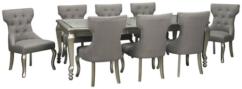 Coralayne Signature Design 9-Piece Dining Room Set