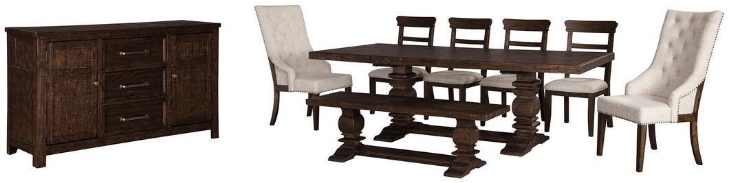 Hillcott 8-Piece Dining Room Set